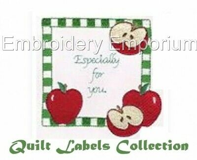 Quilt Labels Collection - Machine Embroidery Designs On Cd Or Usb