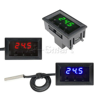 W1209 Thermostat -50~110°C 12V Digital Temperature Controller Switch Sensor+Case