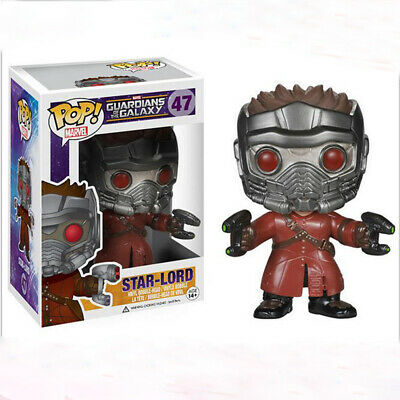 New Funko POP Star-Lord #47 Vinyl Action Figure Collection Boy Toys Gift