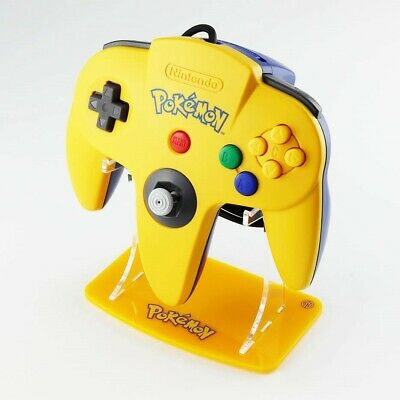 Nintendo 64 Pokémon Controller Stands, Gaming Displays, N64, Retro, Collection