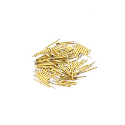 100pcs P75-J1 Dia 1.02mm 100g Spring Test Probe Pogo Pin Ft