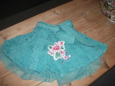 M&S Baby Girls Embroidered Skirt Age 18-24 Months