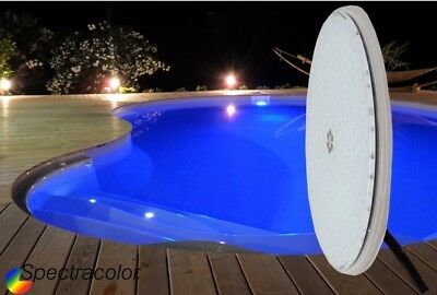 Lampe Piscine Couleur 30W . Led Haute Performance-Compatible Par56-Ultra Puiss
