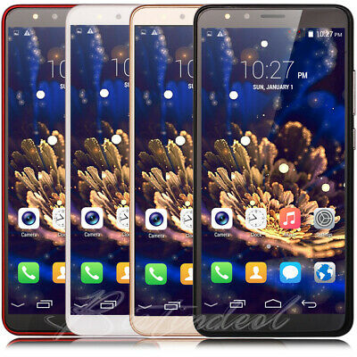 "Luxury 5.5""Large Screen Android8.0 Factory Unlocked Quad Core Smart Mobile Phone"
