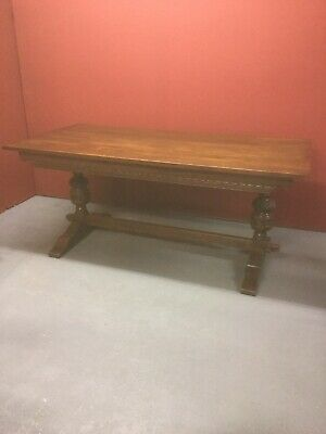 Antique Style Oak Refectory Style Dining Table Sn-241a