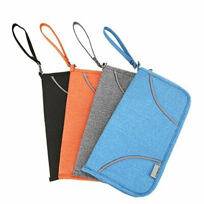 Family Passport Holder Document Organizer Cards Wallet Pouch Money IDs RFID HU