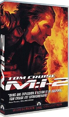 DVD  //  MISSION : IMPOSSIBLE II  ( 2 )  //  Tom Cruise  /  NEUF cellophané