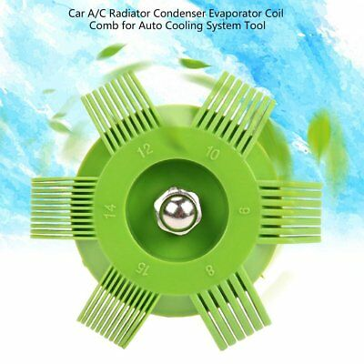 Car A/C Radiator Condenser Evaporator Coil Comb for Auto Cooling System ToolPG#W