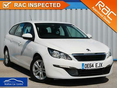 Peugeot 308 1.6 Blue Hdi S/S Sw Active 2015 (64) • from £33.26 pw