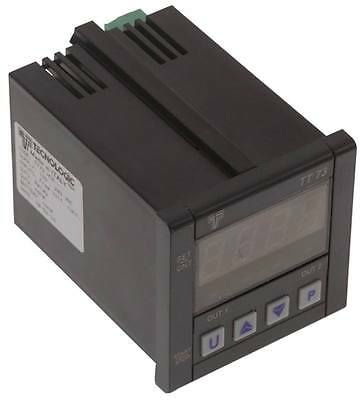 Tecnologic Tt73 Dcr Timer Electronic with Led 100-240vac 2-pin 2co Reset 8a