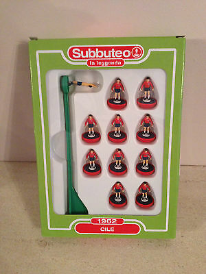 Subbuteo Legends / Leggenda Team - Chile 1962