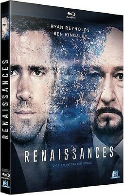 Blu Ray  //  RENAISSANCES  //  Ryan Reynolds - Ben Kingsley  /  NEUF cellophané