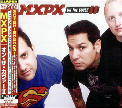 MXPX On The Cover II Japanese CD album (CDLP) promo TOCP66874 TOOTH & NAIL