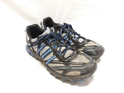 ADIDAS KANADIA TR 3 Trail Running Shoes Men's Size 11 Black and Blue