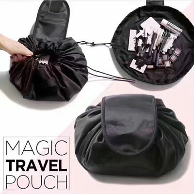 Magic Travel Pouch Drawstring Portable Travel Cosmetic Bag Makeup Toiletry  AT