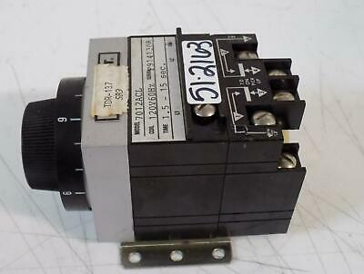 Agastat 1.5-15 Sec Relay Timer 7012Acl