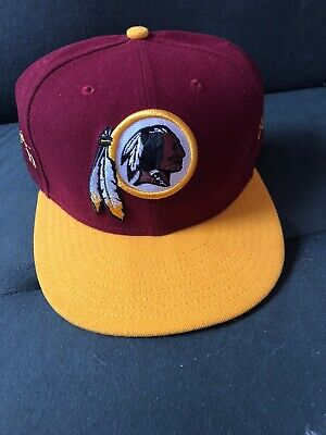 9f2d2b0e061 New Era 2017 Washington Redskins 59Fifty Fitted Hat Sideline Cap NFL On  Field