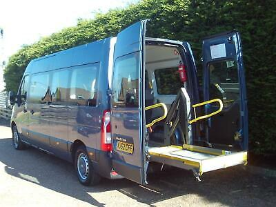 62 Renault MASTER LM35 DCI Minibus WHEELCHAIR ACCESS 8 SEATER DISABLED