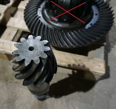 86020944 Rear axle bevel gear set z=11/54, used, Fiat G-, Ford NH -70,
