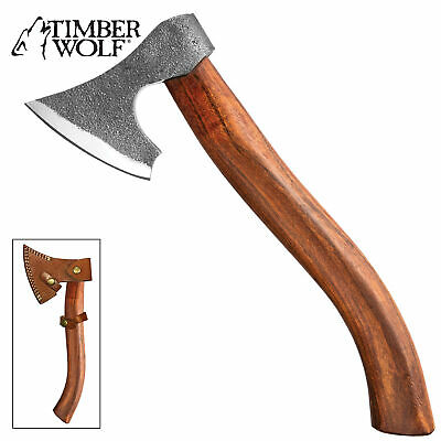 "12 1/4"" Timber Wolf Survival Camping Tomahawk Throwing Axe Battle Hatchet Knife"