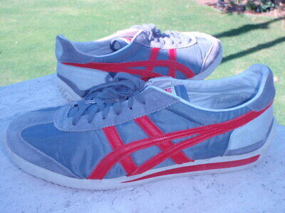 quality design aa1f8 297bd ONITSUKA TIGER MEXICO 66 Vintage Red black D2Q3N Size 9.5 ...