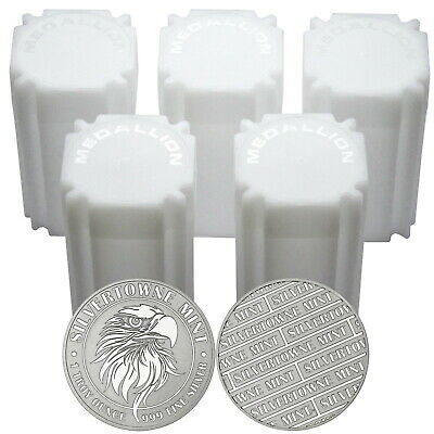 NEW! SilverTowne Mint Mighty Eagle 1oz .999 Silver Medallion 100pc