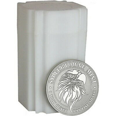 SPECIAL--NEW! SilverTowne Mint Mighty Eagle 1oz .999 Silver Medallion 20pc