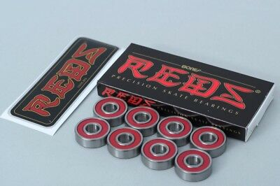 Bones Reds skateboard Precision bearings Set of 8