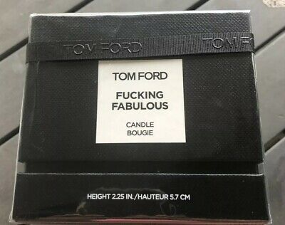 New Sealed In Box Tom Ford..Fucking Fabulous Candle Bougie Height 2.25 in