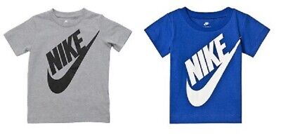 Nike Boys Girls Junior Kids Infant Cotton Crew Casual Sports T Shirt Top Age 2-7