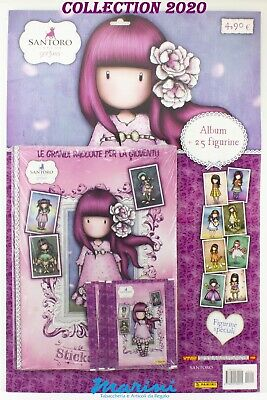 Panini Raccolta Santoro London Gorjuss Album +25 Figurine Stickers Raccolta 2020