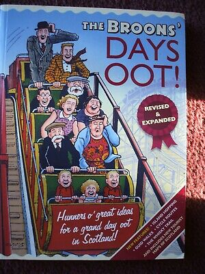 Broons / Oor Wullie Days Oot Ideas For Great Day Out In Scotland S/Back  V G C