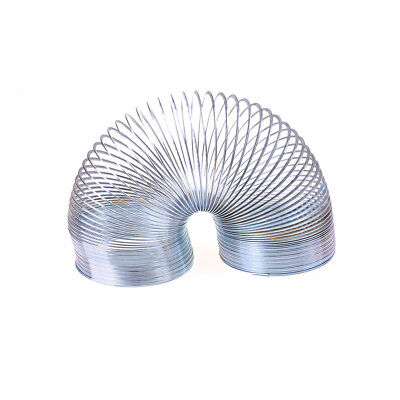Metal Rainbow Spring Stress-Relieve Copper Magic Slinky Toys Eo Z0HWC
