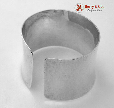 Arts and Crafts Cuff Bracelet Kurt Jobst Hammered South African