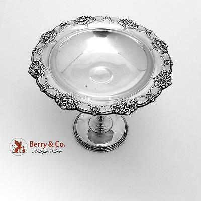 Queens Lace Compote Sterling Silver International 1949