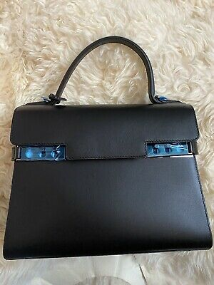 6c0680e31 RARE! DELVAUX NOTEBOOK for tempete mm leather bag charm madame ...