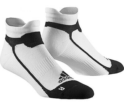 Adidas Running Sports Liner Ankle Socks - Mens Womens Ladies - White