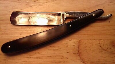 "Vintage Thomas Turner ""royal Navy""  Cut Throat Razor Rasoio Rasier Rasiermesser"