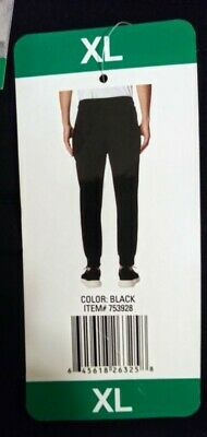 f74ece46fc43 REEBOK MEN S WOVEN Jogger Sweat Pants Black BR2761 Size XL -  32.99 ...