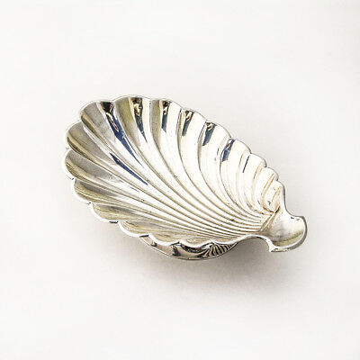 Shell Serving Dish Sterling Silver Whiting Mfg 1900