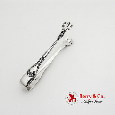 Chantilly Sugar Tongs Gorham Sterling Silver