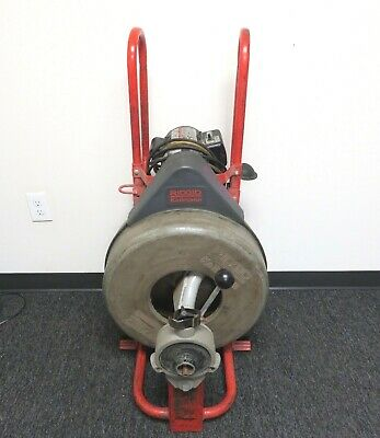 RIDGID 115-Volt K-750 AUTOFEED Drain Cleaner Machine with 3/4 in. Pigtail