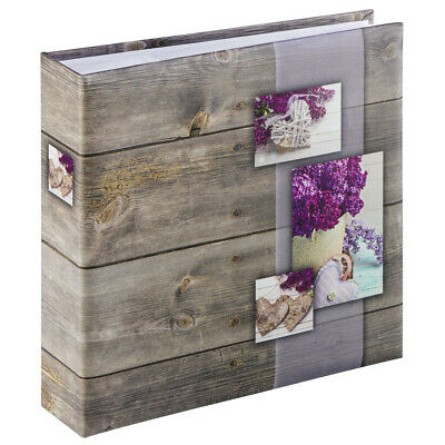 Hama 2169 Rustico photo album Lilac Memo Album - for 200 photos with a size of