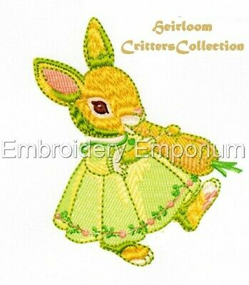 Heirloom Critters Collection - Machine Embroidery Designs On Cd Or Usb