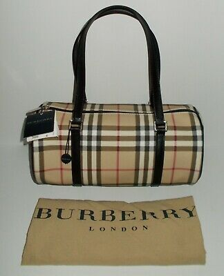 0818df1d5a59 Burberry London Nova Check Barrel Shoulder Bag - New With Tags And Dust  Cover