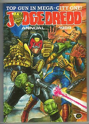Judge Dredd Annual - 1989 - EXCELLENT!!