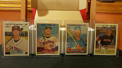 2016 Complete Topps HERITAGE MINOR SET *** (215) Cards #1-215 ALL (15) SPs  MINT