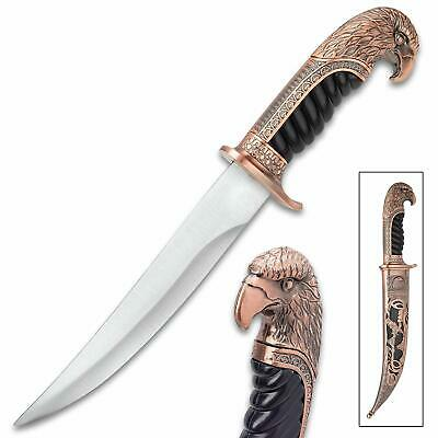 Royal Hunter EAGLE HEAD Unique Ornate Display Collectable Knife - LARGE 37cm