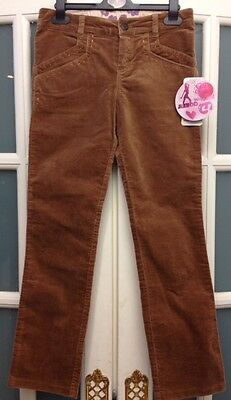 Bnwt Designer Brand Mayoral Junior Sand Velvet Trousers Age 10 Yrs Rrp £31.50