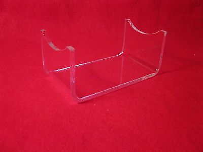 Five Premium High School & College Football Showcase Acrylic Display Stands D#1